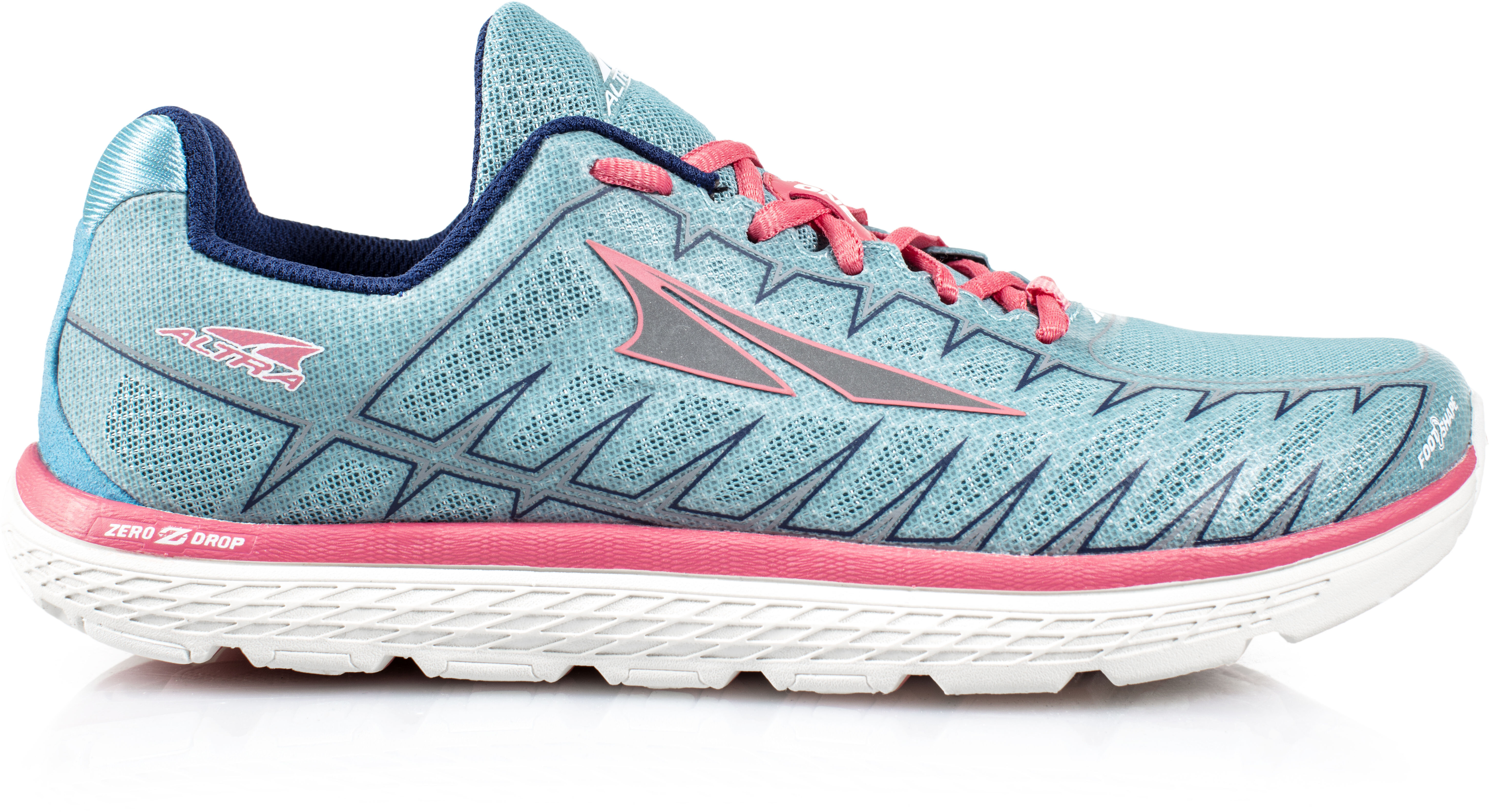 Altra One V3 Marathon Running Shoes Women Light Bluecoral Campzde